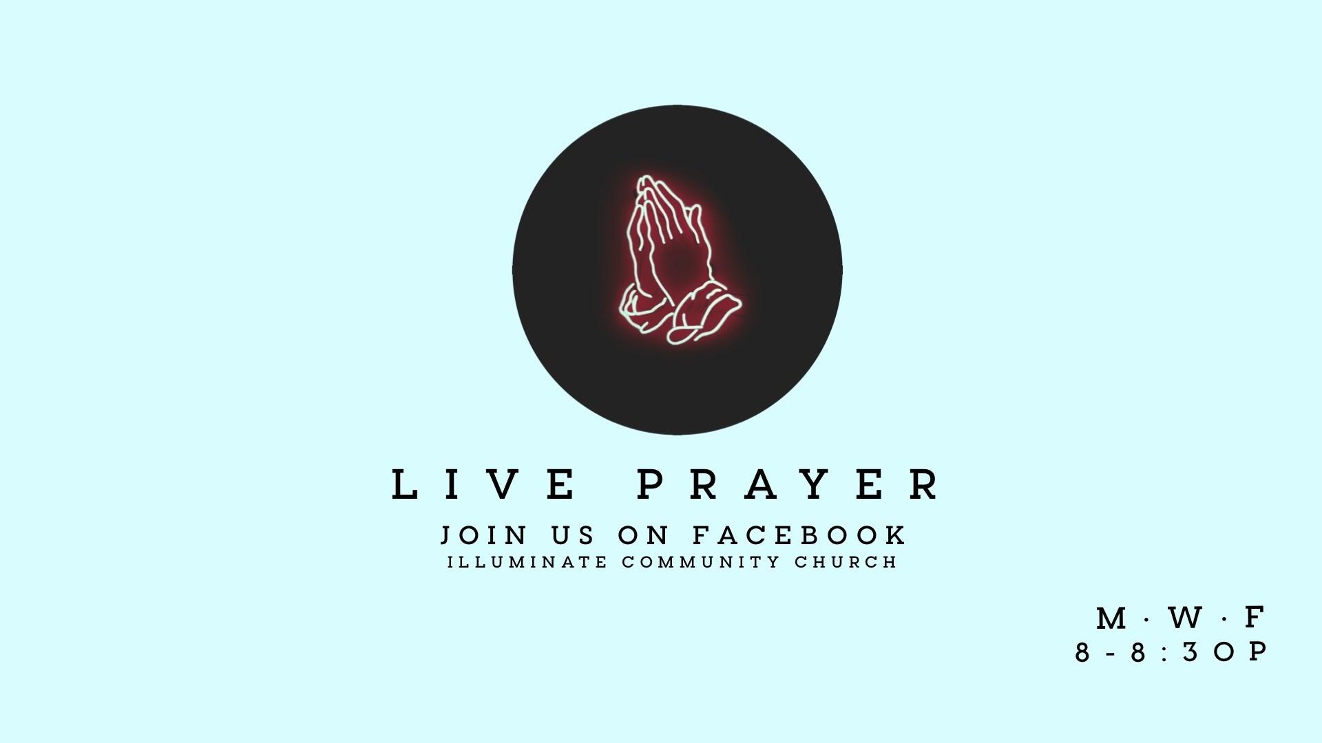 Facebook Live Prayer